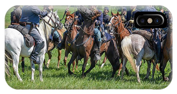 Gettysburg Cavalry Battle 7970c  IPhone Case