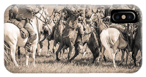 Gettysburg Cavalry Battle 7970s  IPhone Case