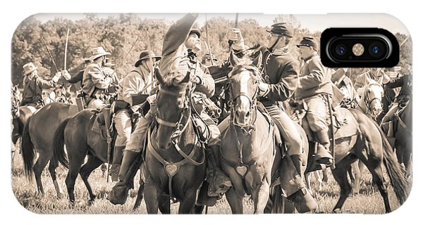 Gettysburg Cavalry Battle 7992s  IPhone Case