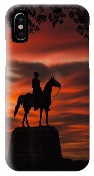 Gettysburg - Gen. Meade At First Light IPhone Case