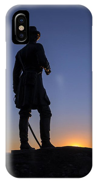 Gettysburg - Gen. Warren At Sunset IPhone Case