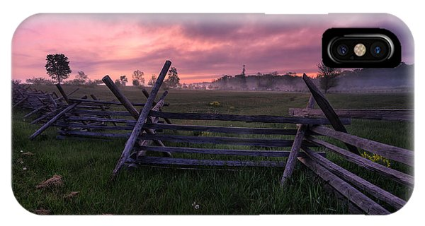 Gettysburg Mornings... IPhone Case