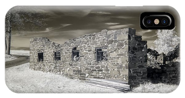 Gettysburg - Rose Farm Ruins IPhone Case