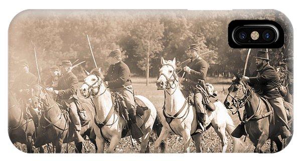Gettysburg  Union Cavalry 7901s  IPhone Case