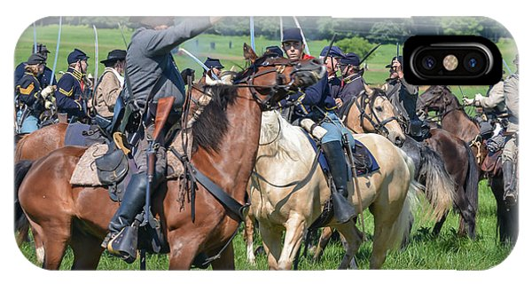 Gettysburg  Union Cavalry 7920c  IPhone Case