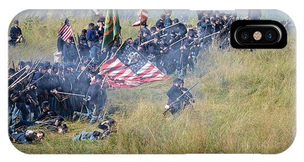 Gettysburg Union Infantry 8963c IPhone Case