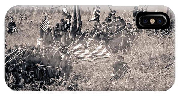 Gettysburg Union Infantry 8963s IPhone Case
