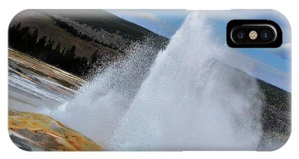 Geyser IPhone Case