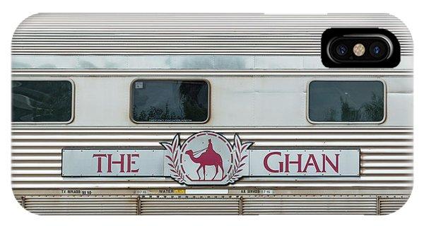 Ghan Train At Alice Springs IPhone Case