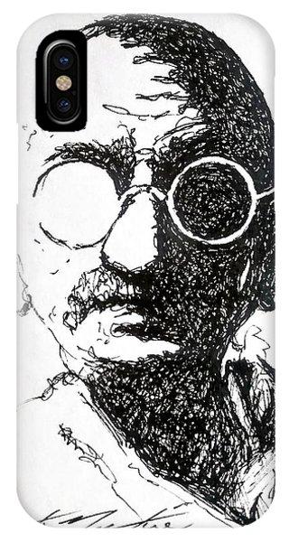 Ghandi IPhone Case
