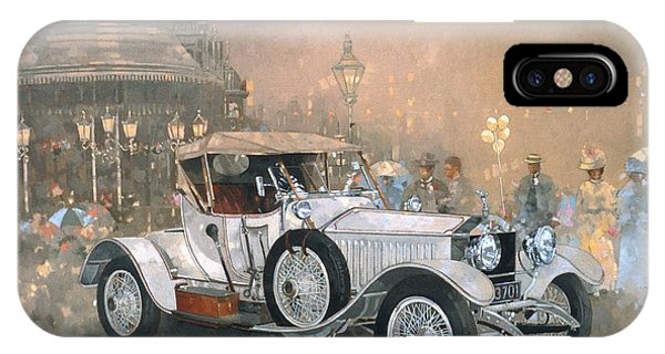 Car iPhone X Case - Ghost In Scarborough  by Peter Miller