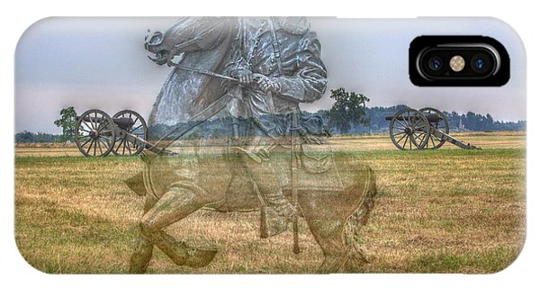 Ghost Of Gettysburg IPhone Case