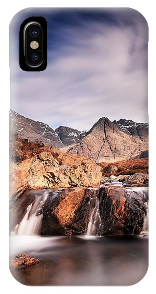 Fairy Glen iPhone Case - Ghost Of The Fairy Pools by Grant Glendinning