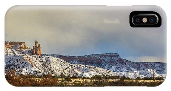 Ghost Ranch In Winter IPhone Case
