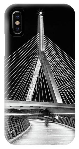 Ghost Rider At Zakim Bridge IPhone Case