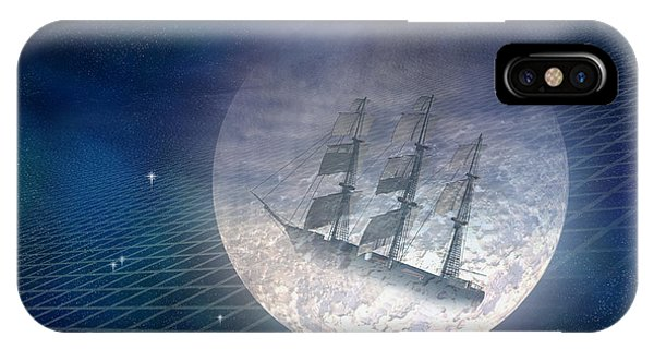 Schooner iPhone Case - Ghost Ship by Carol and Mike Werner