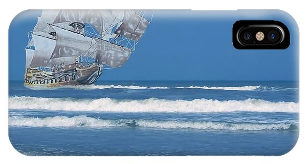 Ghost Ship On The Treasure Coast IPhone Case