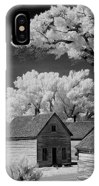 Ghost Town Bannack, Mt  IPhone Case
