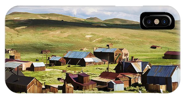 Bodie Ghost Town iPhone Case - Ghost Town by Ricky Barnard