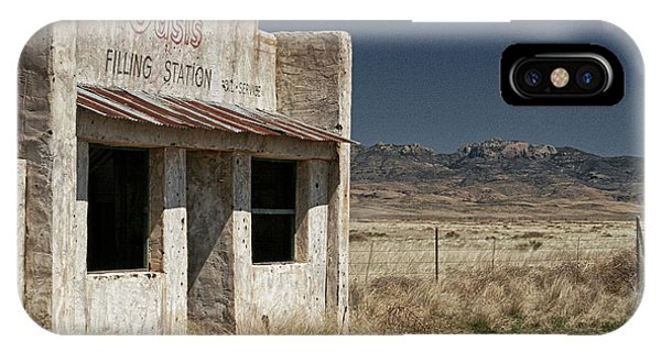 Ghost Way Station Oasis IPhone Case