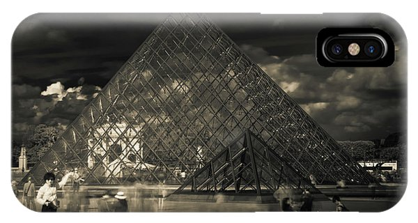 Ghosts Of The Louvre IPhone Case