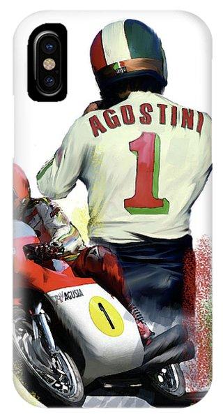 Giacomo Agostini  Ago IPhone Case