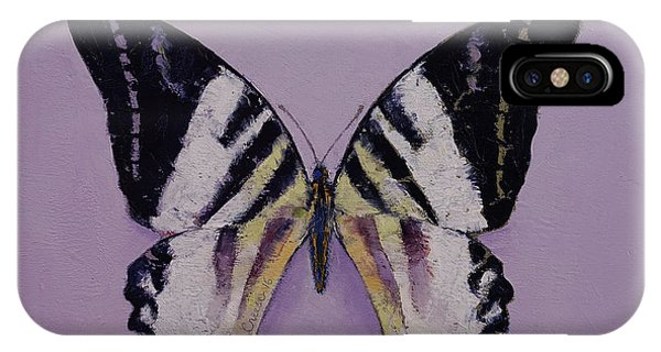 Giant Swordtail Butterfly IPhone Case