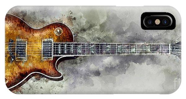 Guitar Legends iPhone Case - Gibson Les Paul  by Jon Neidert