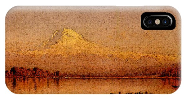 Gifford Sanford Robinson Mount Rainier Bay Of Tacoma IPhone Case