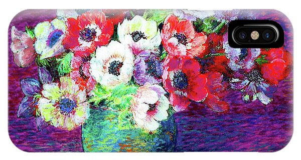 Gift Of Anemones IPhone Case