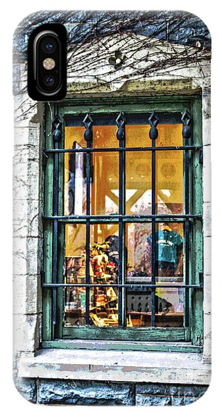 Gift Shop Window IPhone Case