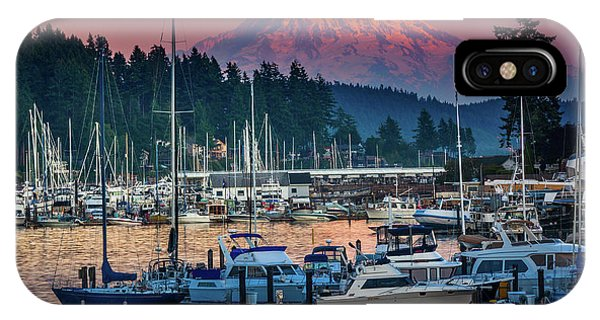 Moor iPhone Case - Gig Harbor Dusk by Inge Johnsson
