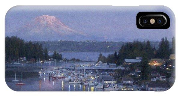 iPhone Case - Gig Harbor Evening Reflections by Ezra Suko