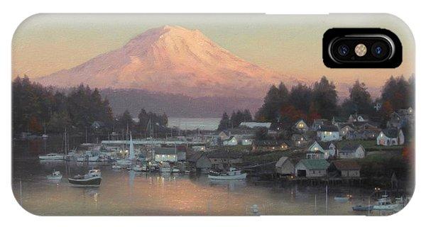 iPhone Case - Gig Harbor Sunset by Ezra Suko