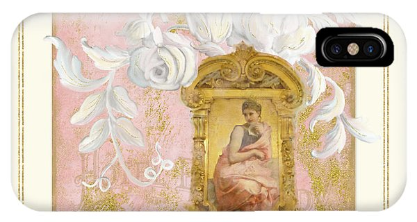 Palace iPhone Case - Gilded Age II - Baroque Rococo Palace Ceiling Inspired by Audrey Jeanne Roberts