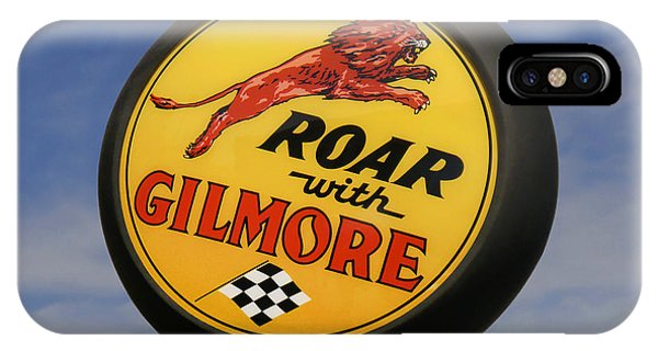 Gas Station iPhone Case - Gilmore Gas Globe by Mike McGlothlen
