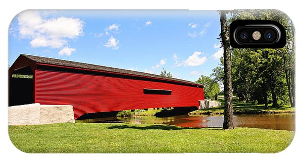 Gilpin's Falls Covered Bridge IPhone Case