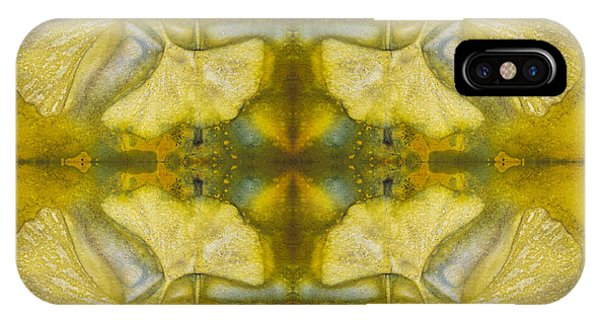 IPhone Case featuring the photograph Gingko Quad by Joye Ardyn Durham