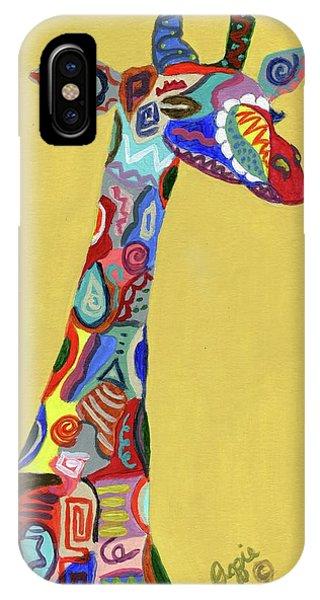 Giraffe Attitude IPhone Case