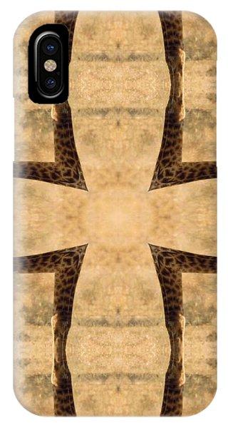 Giraffe Cross IPhone Case
