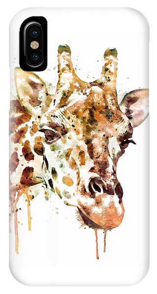 Giraffe Head IPhone Case