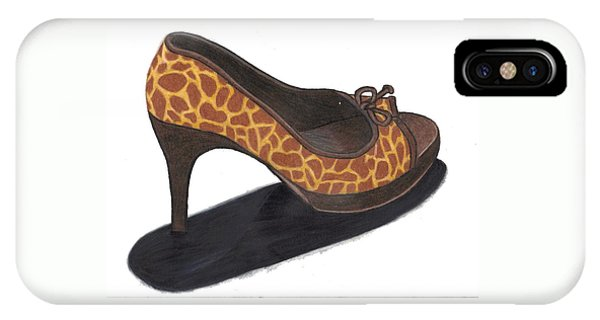 Giraffe Heels IPhone Case