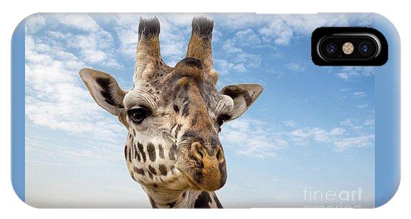 iPhone Case - Giraffe In The Masai Mara by Jane Rix