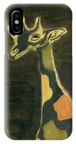 Giraffe Metallica IPhone Case