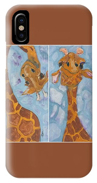 Giraffe Set IPhone Case