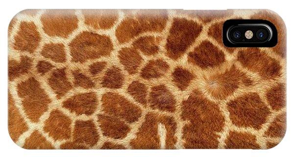 Exploramum iPhone Case - Giraffe Skin Close Up 2 by Exploramum Exploramum