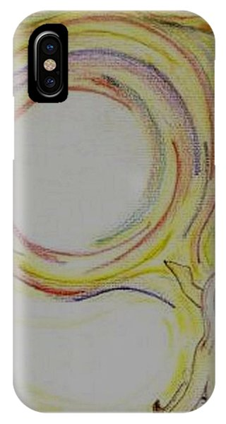 Girl And Universe Creative Connection IPhone Case