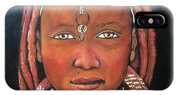 Girl From Africa IPhone Case