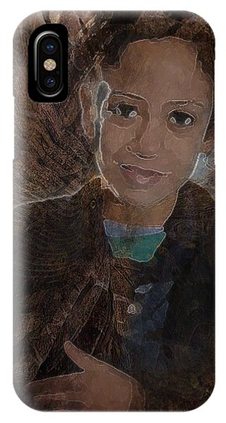 Girl From Samarra IPhone Case