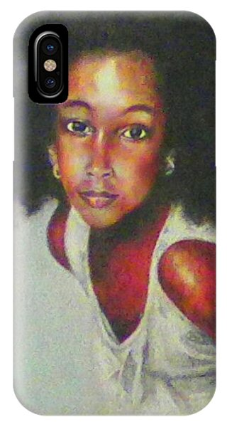 Girl From The Island IPhone Case
